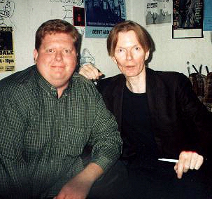 Jim Carroll with Chad Adkins
